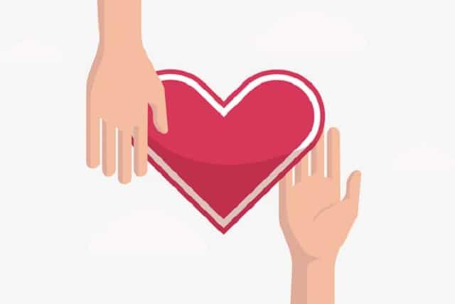Tình yêu thương là sự san sẻ giữa người với người