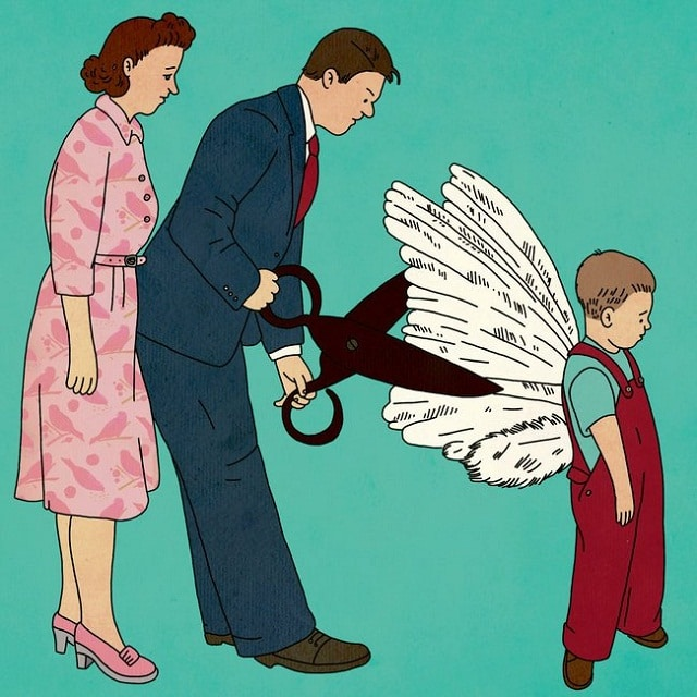 Không áp đặt trẻ làm những điều mà chúng không muốn