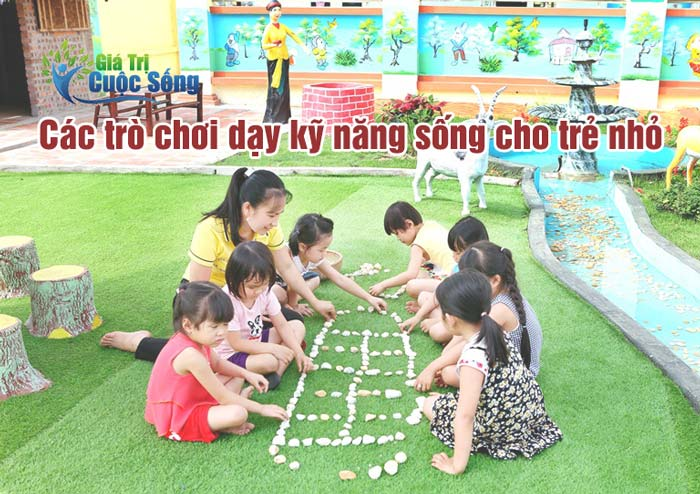 Các trò chơi dạy kỹ năng sống tốt nhất cho trẻ nhỏ