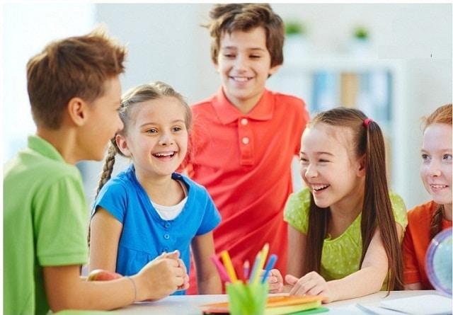 Trẻ nhỏ sau thời gian học tại trung tâm sẽ cảm thấy tự tin hơn trong cuộc sống