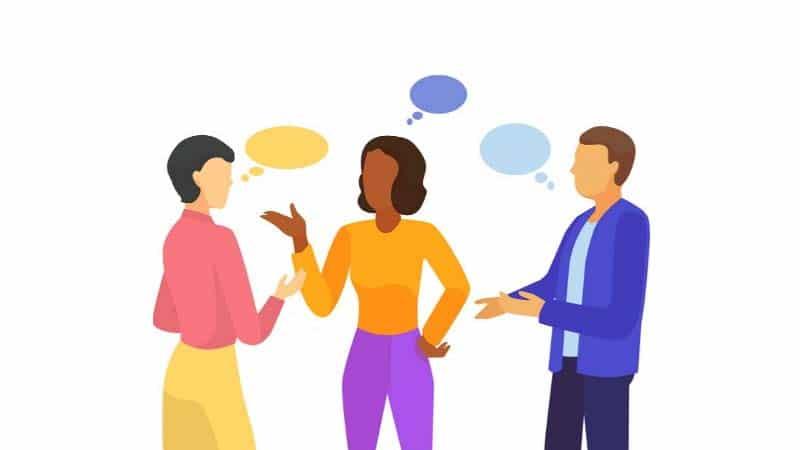 Tôn trọng người nói là kỹ năng lắng nghe trong giao tiếp