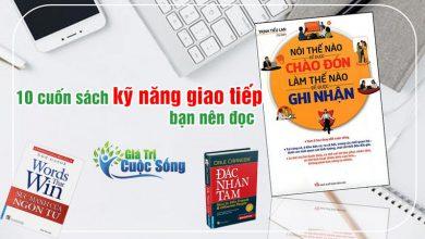 Photo of 10 cuốn sách kỹ năng giao tiếp hay bạn nên đọc