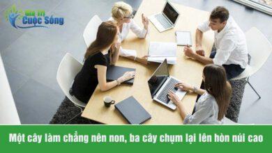 Tầm quan trọng của kỹ năng làm việc nhóm
