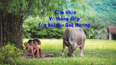 Bài thơ Quê Hương
