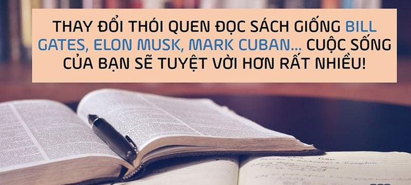 Thói quen đọc sách của người Việt