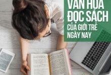văn hóa đọc sách của giới trẻ hiện nay