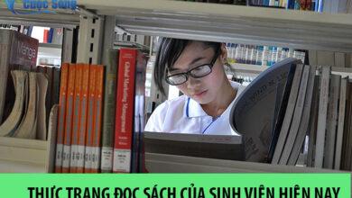 Thực trạng đọc sách của sinh viên hiện nay